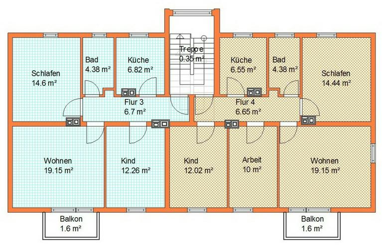 Bild 4: 3 Zimmer 1 OG * Sichern Sie Ihr Kapital durch den Erwerb dieser vermieteten Eigentumswohnu...