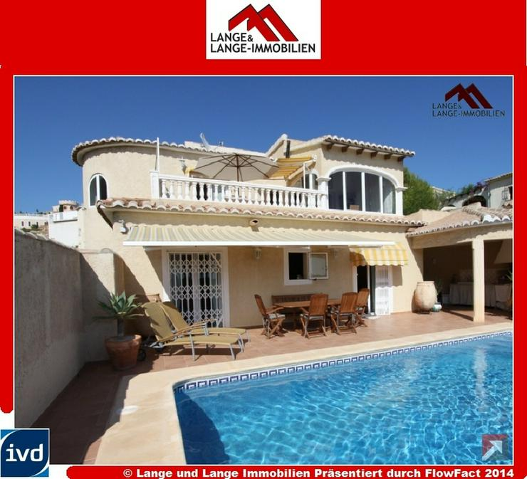 bei Moraira - Cumbre del Sol - Villa mit Pool und Panorama-Meerblick - Spanien Immobilien - Auslandsimmobilien - Bild 1