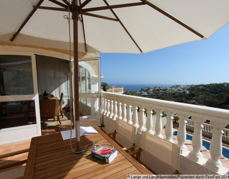 Bild 2: bei Moraira - Cumbre del Sol - Villa mit Pool und Panorama-Meerblick - Spanien Immobilien