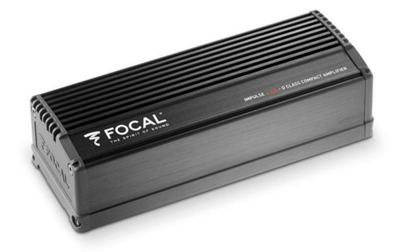 Focal Integration 4-Kanal Endstufe Impulse - Lautsprecher, Subwoofer & Verstärker - Bild 1