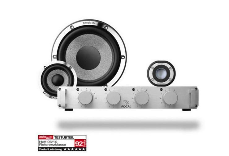 Focal Utopia Be No7 3-Wege Compo 16.5cm - Lautsprecher, Subwoofer & Verstärker - Bild 1