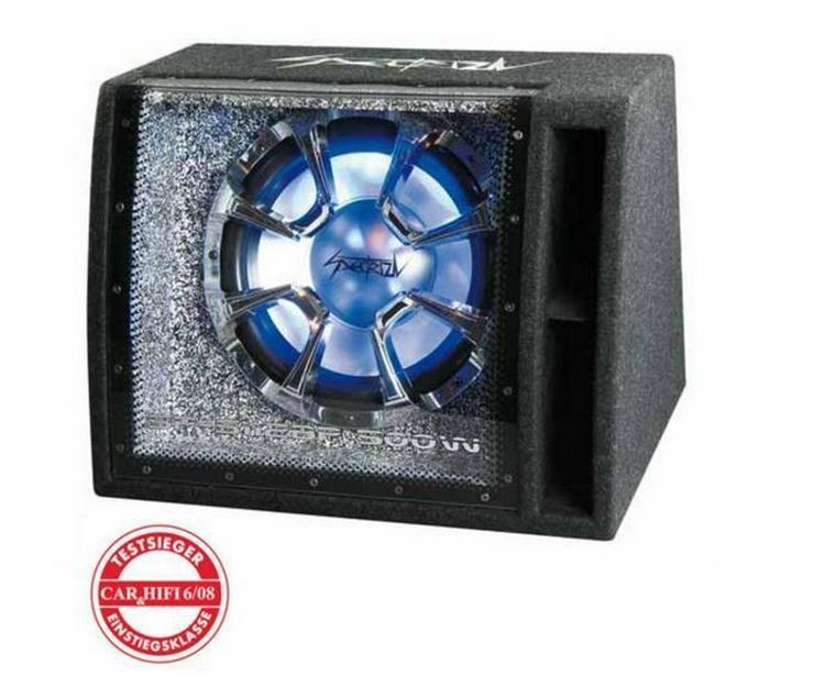 SPECTRON 30cm Bandpass Kiste Subwoofer - Lautsprecher, Subwoofer & Verstärker - Bild 1