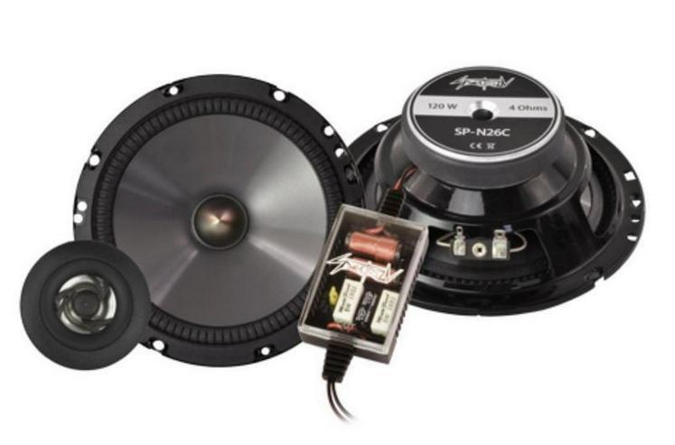SPECTRON Compo-System 16,5 cm 120 Watt SP-N26C - Lautsprecher, Subwoofer & Verstärker - Bild 1