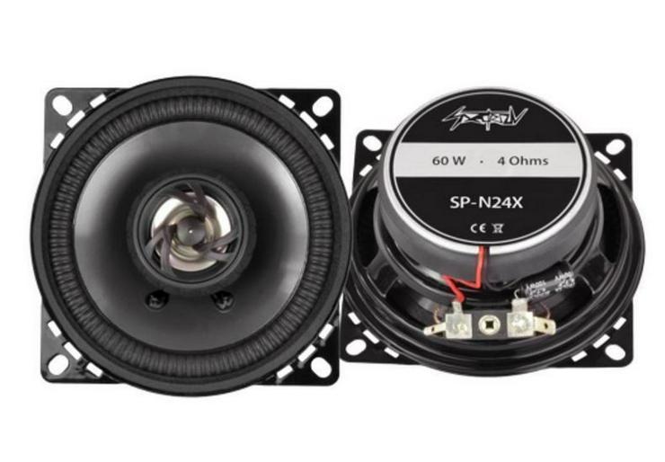 SPECTRON Coax-System 10cm 60 Watt SP-N24X - Lautsprecher, Subwoofer & Verstärker - Bild 1