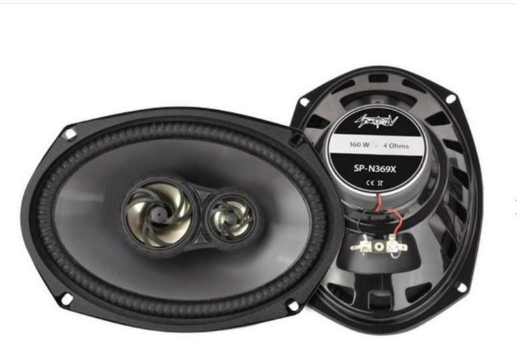 SPECTRON Triax-System 15x23 cm 6x9 160 Watt - Lautsprecher, Subwoofer & Verstärker - Bild 1