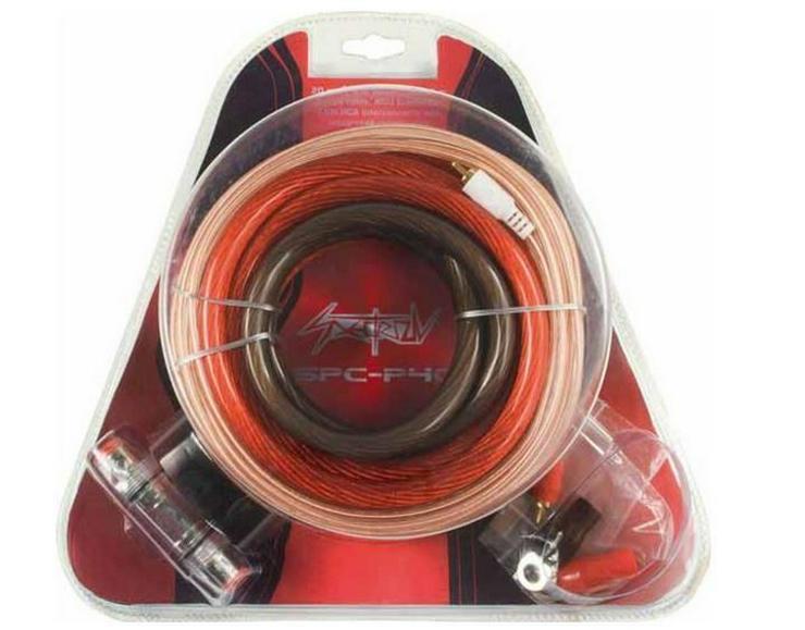 SPECTRON CCAW Kabelset 10mm2 mit Cinchkabel - Lautsprecher, Subwoofer & Verstärker - Bild 1