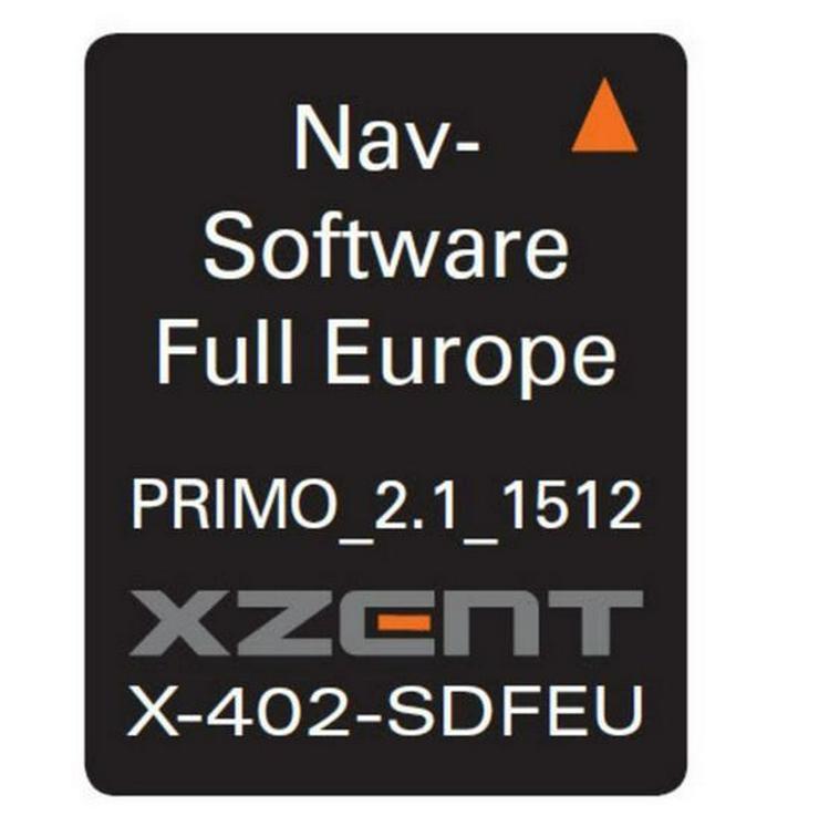 XZENT X-402 microSD iGO Primo Europakarte - Autoradios, Player & Wechsler - Bild 1