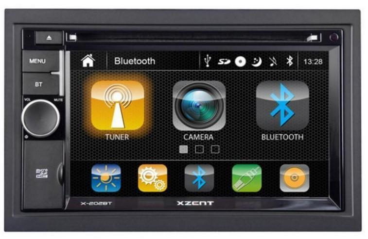XZENT X202BT MK2 2-Din Moniceiver Autoradio - Autoradios, Player & Wechsler - Bild 1