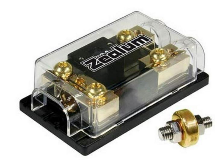 ZEALUM Fuseblock 75mm 2x 50mm Sicherungshalter - Weitere - Bild 1