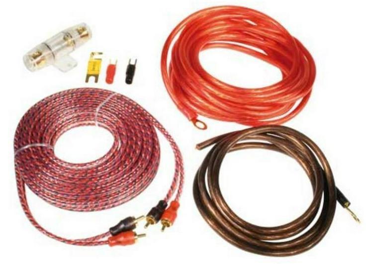 ZEALUM Power Kabelset 8mm2 ZPK-8S - Lautsprecher, Subwoofer & Verstärker - Bild 1