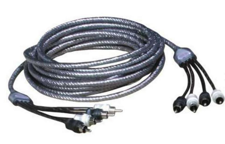 ZEALUM 500 4-K. ZC-TS500-4 Cinchkabel 5m - Lautsprecher, Subwoofer & Verstärker - Bild 1