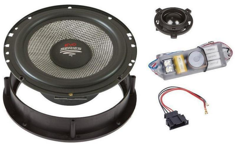 Audio System X 165 GOLF 6+7 Evo Golf 6 + 7 - Lautsprecher, Subwoofer & Verstärker - Bild 1