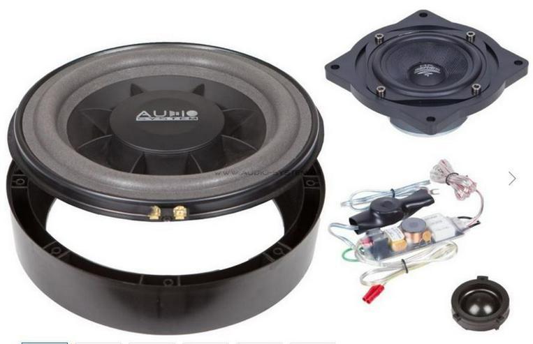 Audio System X 200 Golf 5 Plus EVO 3-Wege
