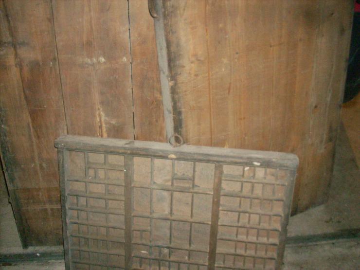 Bild 3: Setzkasten Original Holz