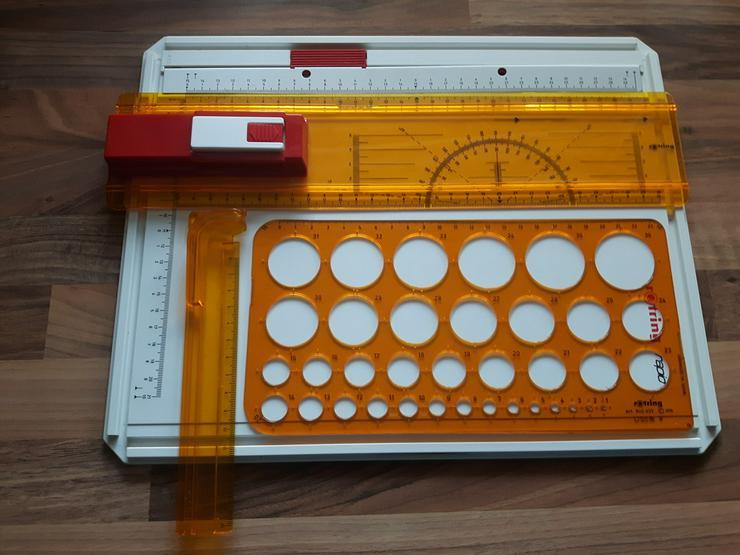 Rotring Schnellzeichenplatte A4 Rapid + Zubehör - Büro-Kleingeräte - Bild 1
