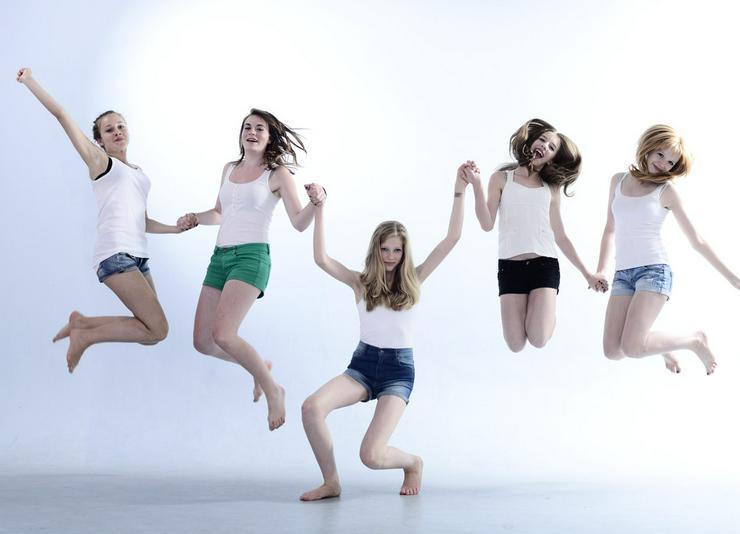 Kindergeburtstag Teenager Fotoshooting