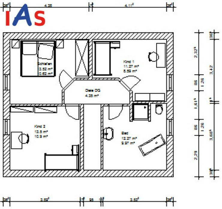 Bild 4: Neubauhaus-Idylle mit angrenzender Wiese - wenn es ein bisschen mehr sein darf!