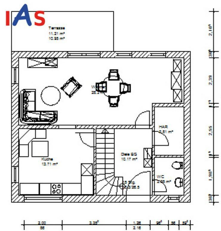 Bild 2: Neubauhaus-Idylle mit angrenzender Wiese - wenn es ein bisschen mehr sein darf!