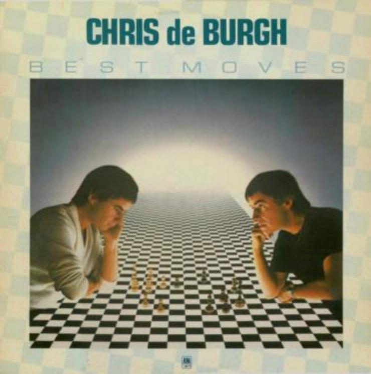 Chris de Burgh Best Moves mit 2 LP