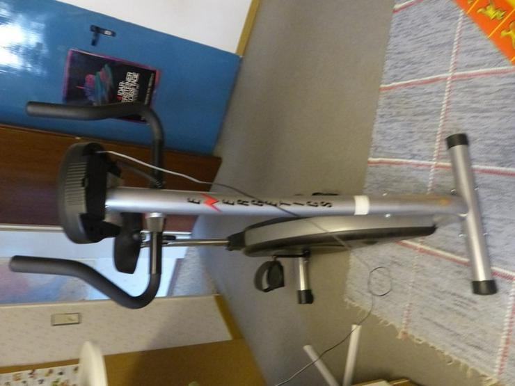 Heimtrainer CT 850 Fitness Bike Made in Switz