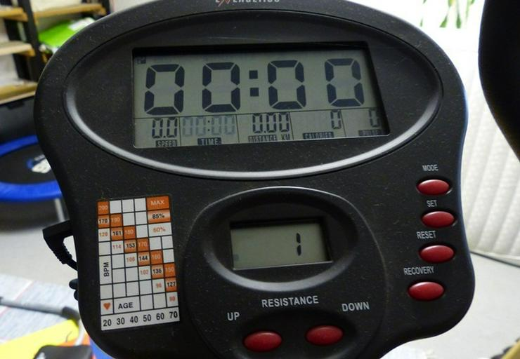 Bild 3: Heimtrainer CT 850 Fitness Bike Made in Switz