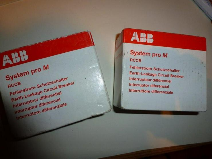 Bild 2: ABB  F 202 -40/0,03 NEU/OVP