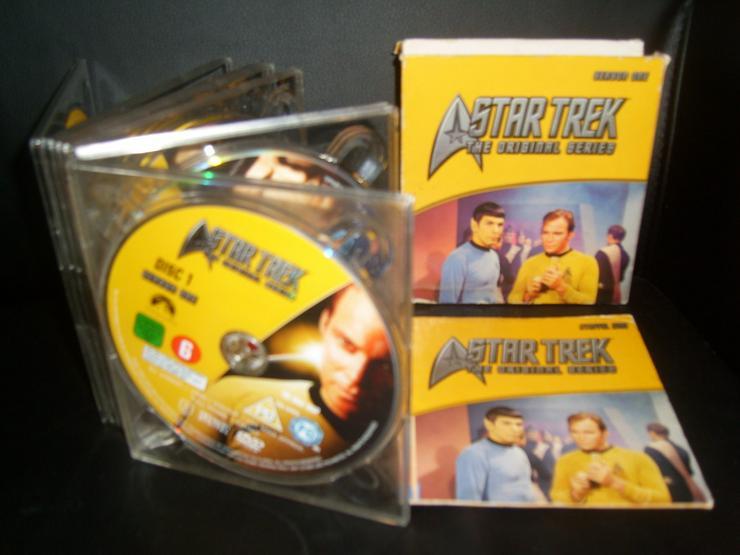 DVD -STAR TRECK -THE ORIGINAL SAMMLUNG-