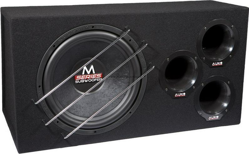 Audio System M 15 BR 38cm Subwoofer 600W - Lautsprecher, Subwoofer & Verstärker - Bild 1
