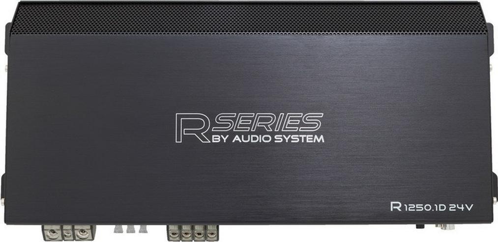 Audio System R-1250.1D 24V Mono Endstufe 1250W - Lautsprecher, Subwoofer & Verstärker - Bild 1