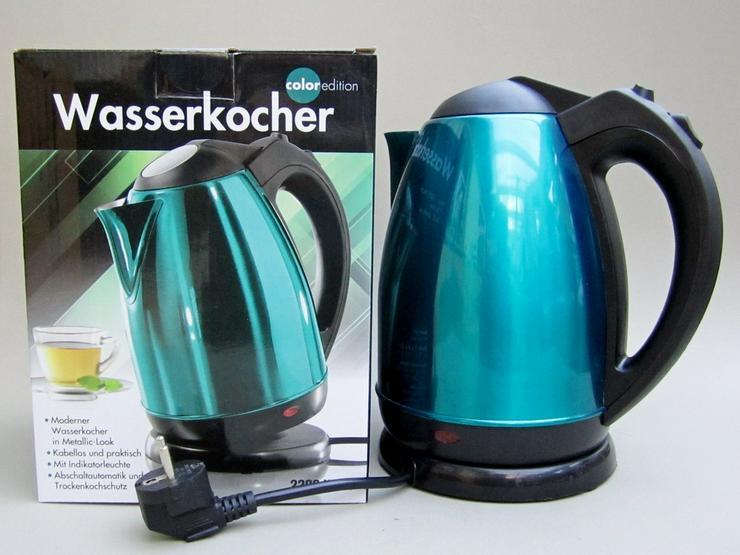 ColorEdition Wasserkocher 1,8l smaragdgrün
