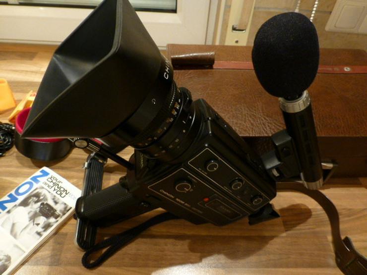 CHINON-Super-8-Video-Sound-Camera