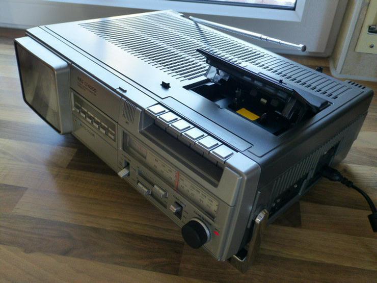 NEC-TV-Color-Radio-Casetten-Recorder