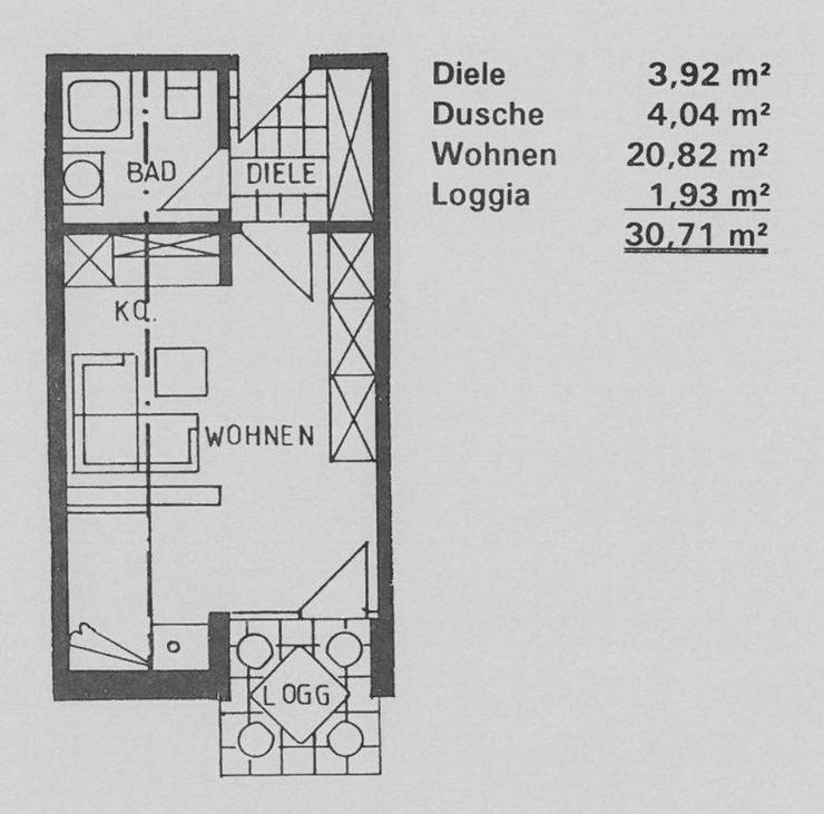 Bild 5: Kapitalanleger aufgepasst! Schönes Apartment in Tönisvorst zu verkaufen
