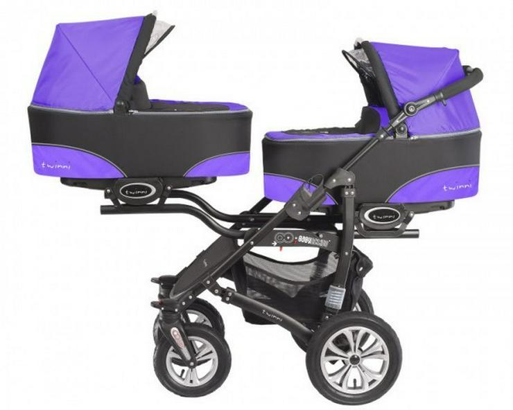 Zwillingskinderwagen NEU von Babyaktiv
