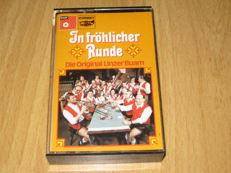 In fröhlicher Runde - Die Original Linzer Buam - Musikkassetten - Bild 1