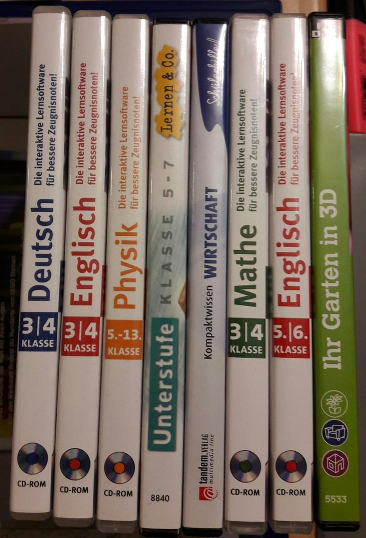 Bild 2: 8 Lern CD ROMs für bessere Schulnoten