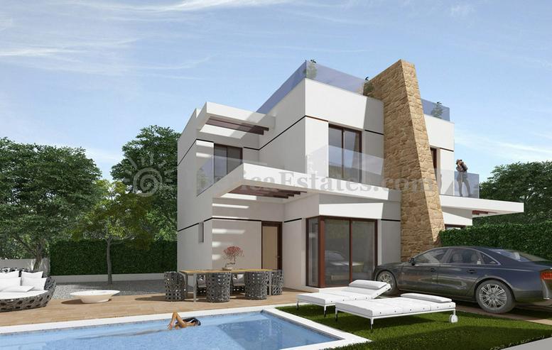 Angebot! Neuen Villen in Spanien, 112m2, 3SZ 2B - Haus kaufen - Bild 1
