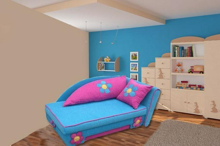 Bild 6: Angie Sofabett - umbaubar- NEU Kindersofa