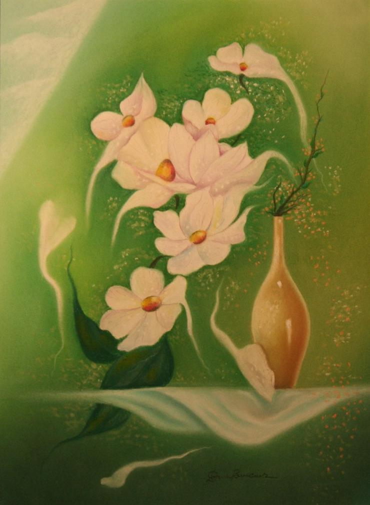 Gemälde Kunstmaler DORU BUCUR Bild 1 Blumen