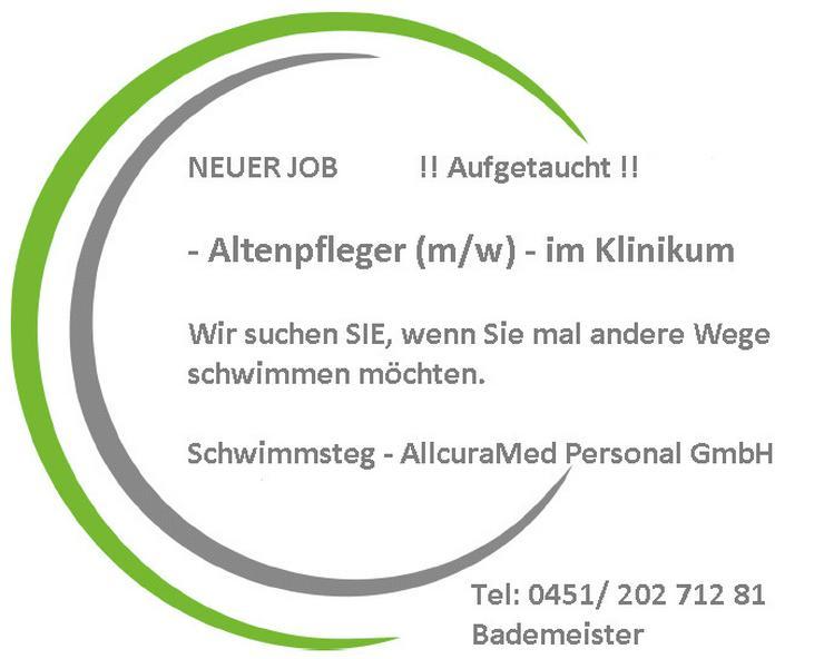 NEUER JOB Altenpfleger im Klinikum Aufgetaucht!