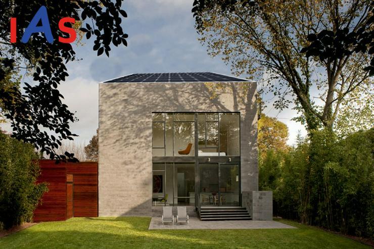 Neubau einer top-modernen Doppelhaushälfte in Tegernheim.