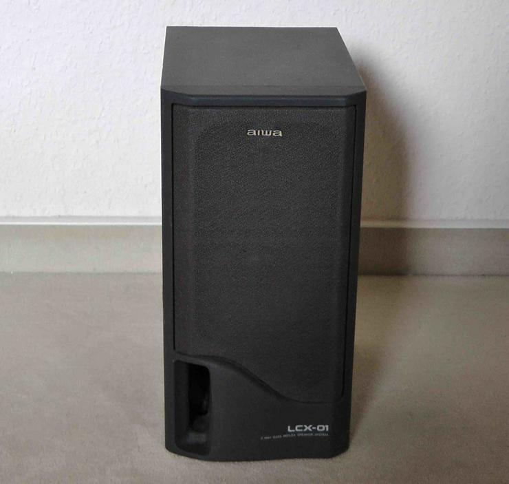AIWA Bass-Reflexboxen SX-1 (aus Anlage LCX-01)