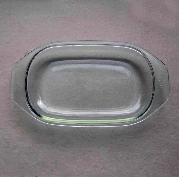 Deckel für Bräter / Auflaufform, Jenaer Glas