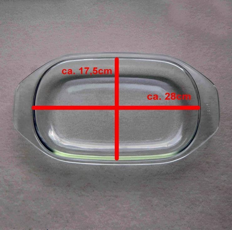 Bild 2: Deckel für Bräter / Auflaufform, Jenaer Glas