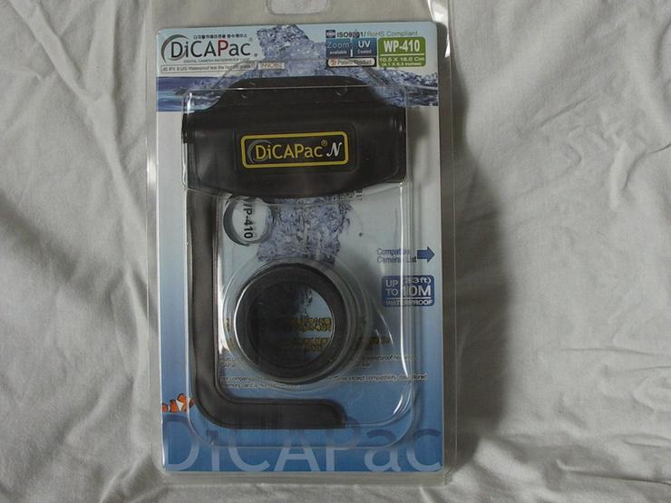 DiCAPac WP-410 Unterwassergehäuse