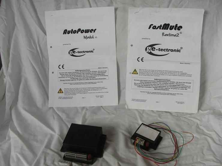 Bild 3: FastMute flextime2 + AutoPower-Modul