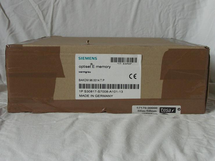 Bild 4: Siemens Optiset E Memory