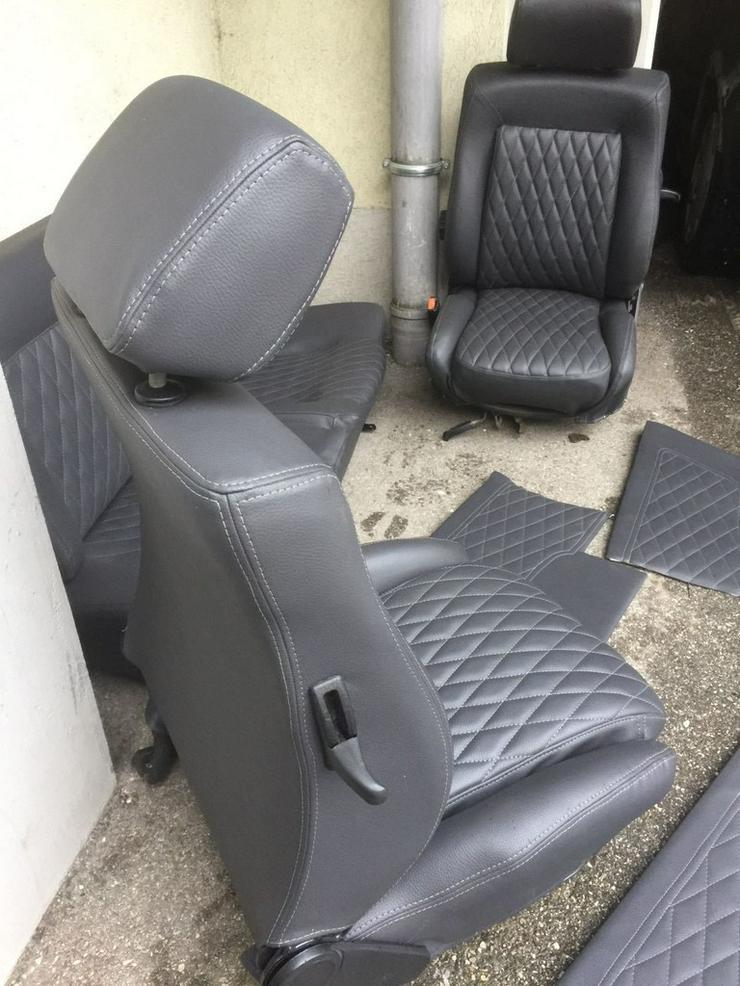 Bild 5: VW Golf 1 Cabrio Lederausstattung Neu