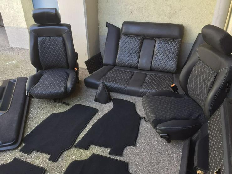 Bild 5: Audi 80 Cabrio Sitze S2 RS2 Sitze