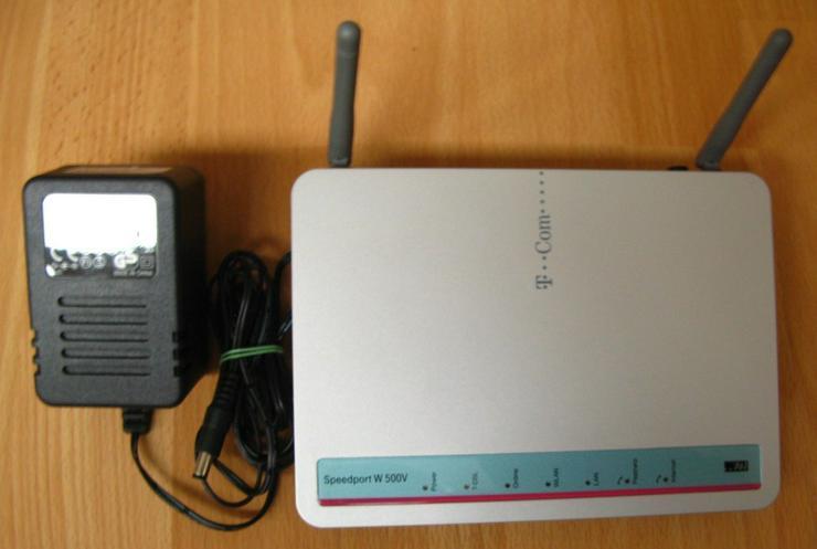 Wlan-Router Speedport W 500V T-Com - Router & Access Points - Bild 1
